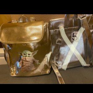 Baby Yoda mini backpack